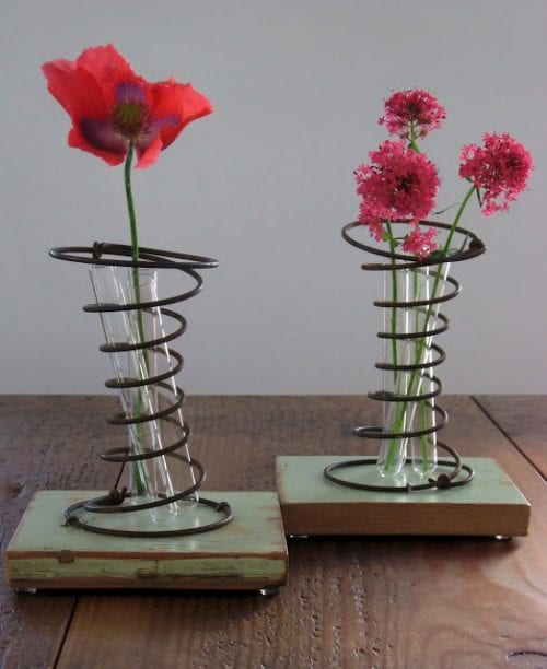 Rusty Spring Vases