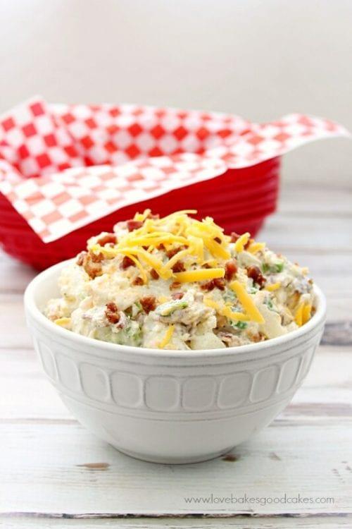 image of Bacon Ranch Potato Salad