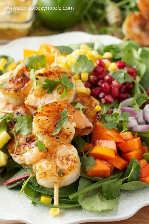 image of Fiesta Lime Shrimp Salad