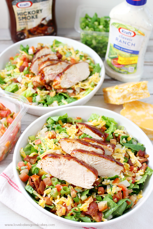 image of Jacked Up Monterey Chicken Salad
