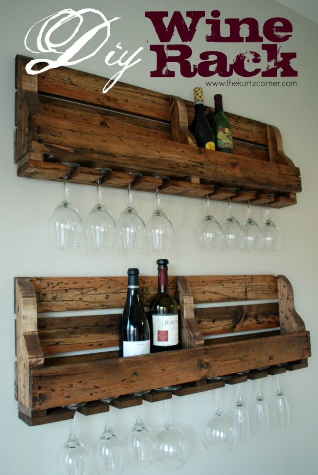 image of DIY Wine Rack