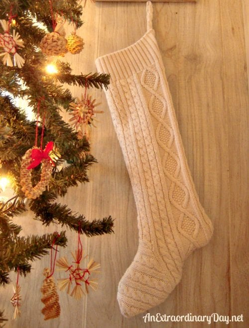 Make a Sweater Stocking for Christmas