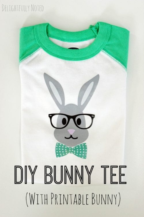 DIY Bunny Tee