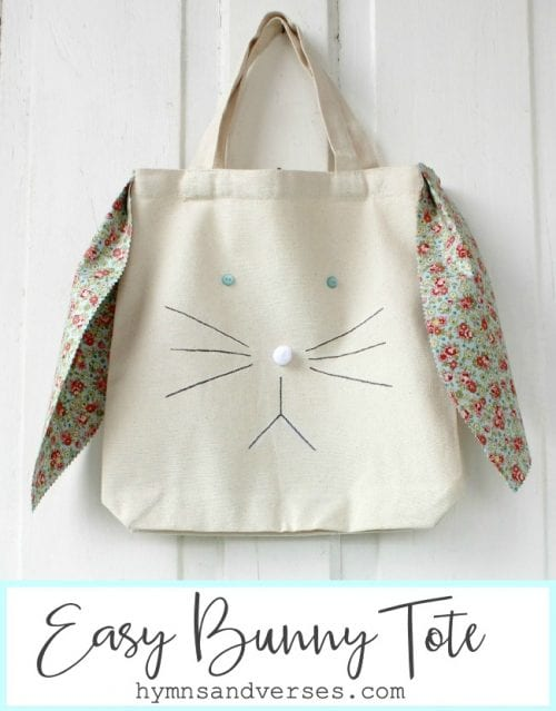 One Hour Bunny Tote