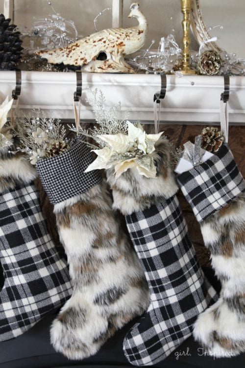 Fur and Flannel Stocking Pattern