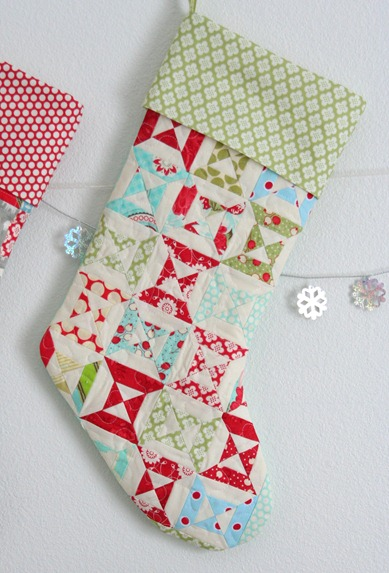 Lined Stocking with Cuff