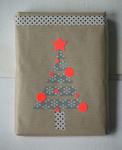 Washi Tape Geschenkverpackung