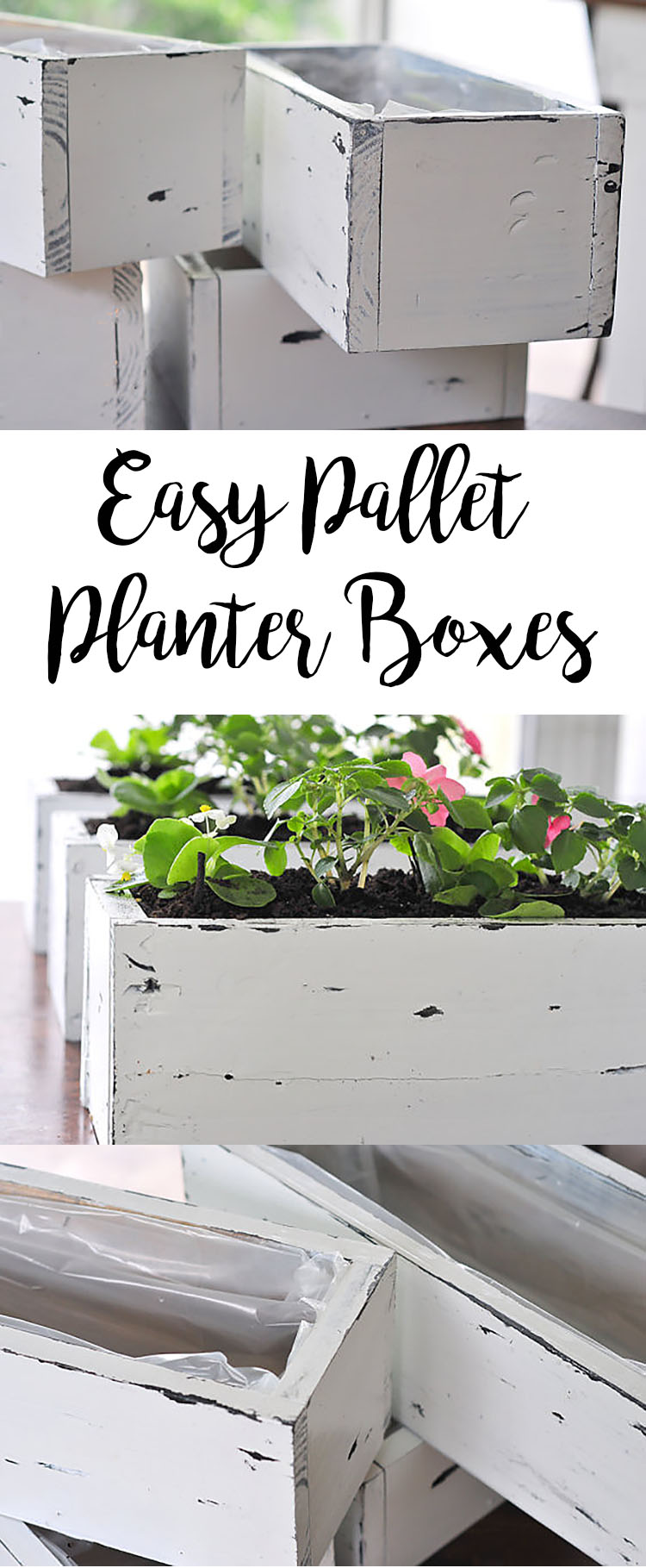 image of Pallet Planter Boxes