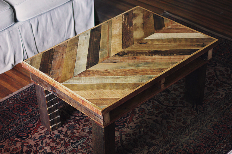 image of DIY Pallet Coffee Table