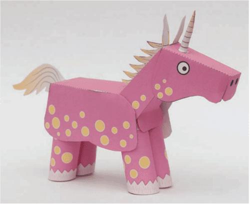 image of Unicorn Paper Craft