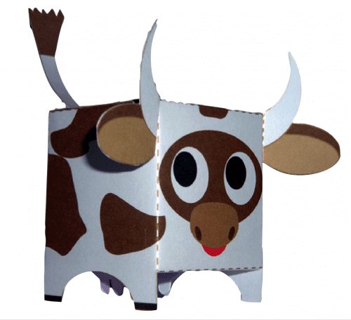 image of Paper Cow