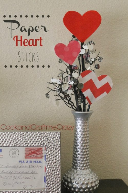 Paper Heart Sticks