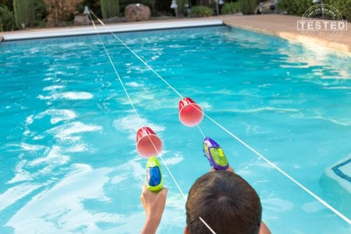 Squirt Gun Water Races