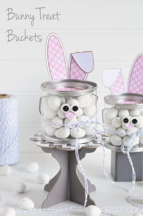 Bunny Treat Buckets