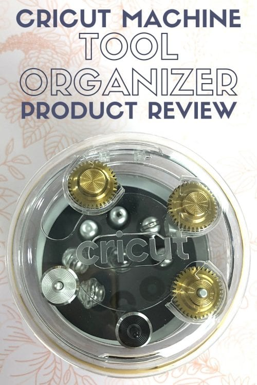 title image for A Review of The Cricut Machine Tool Organizer