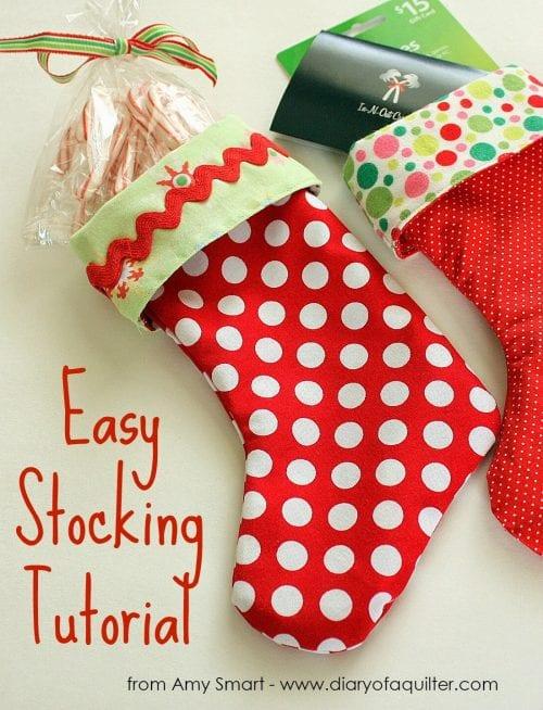 Easy Stocking Tutorial