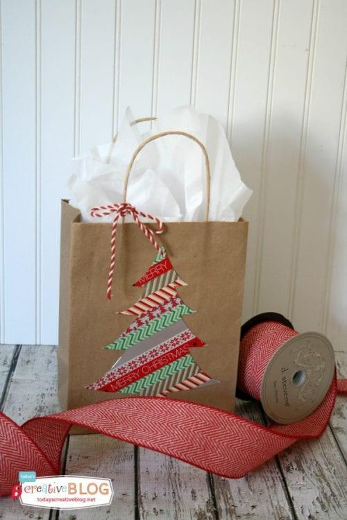 DIY Weihnachtsgeschenkbeutel