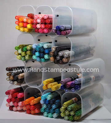 Recycled Marker Storage