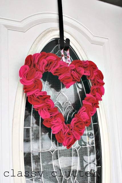Schneller und einfacher Filz Valentinstag