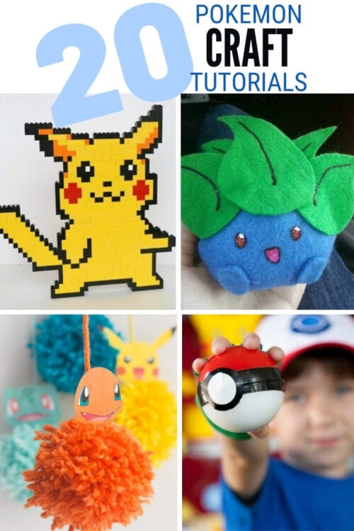 pokemon craft ideas 2
