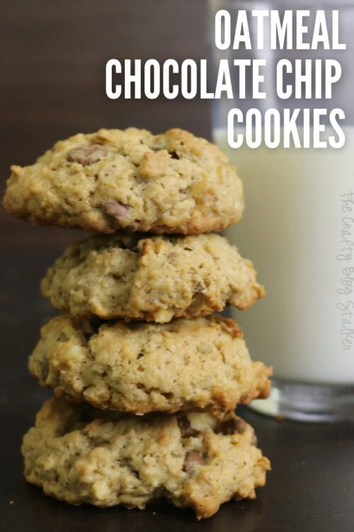 title image for How to Make Oatmeal Chocolate Chip Cookies Recipe