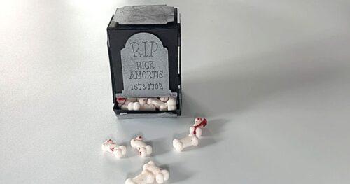 halloween candy dispenser box 12
