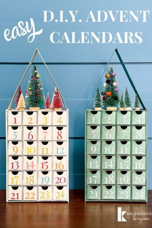 DIY Adventskalender mit Cricut Explore Air 2
