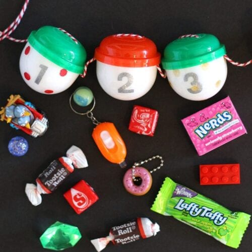 Gumball Machine Capsule Toy Adventskalender