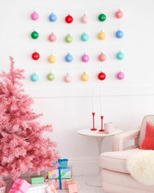 Christmas Ornament Advent Calendar