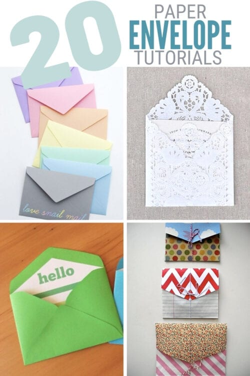 title image for Top 20 Paper Envelope Making Tutorials