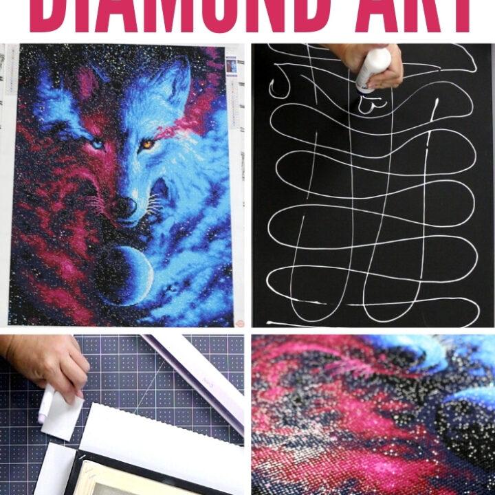 frame diamond art 25