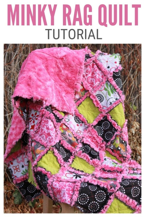 title image for How to Sew a Minky Rag Quilt