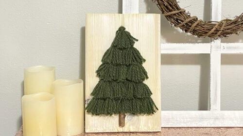 tassel tree christmas decor 22