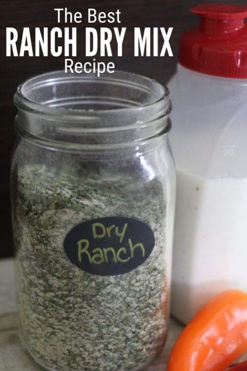Title image for How to Make the Best Ranch Dressing Recipe and Dry Mix