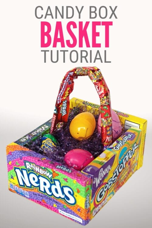 title image for How to Make a Candy Easter Basket