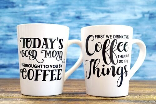 Do It Yourself Coffee Mugs