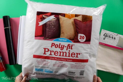 supplies used for Gnomies Holiday Pillow Cover