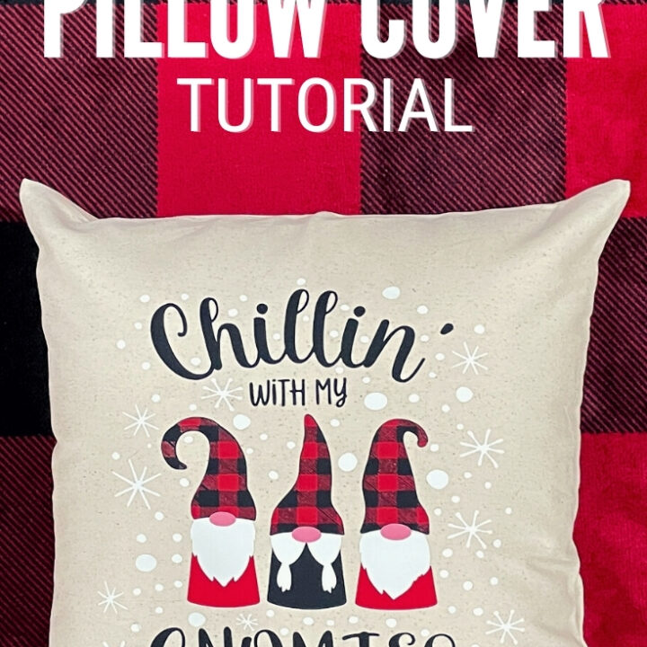 Gnomies Holiday Pillow Cover 16