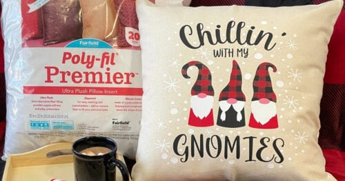 Gnomies Holiday Pillow Cover 17