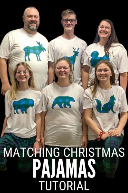 Titelbild für Wie man passende karierte Weihnachtspyjamas macht