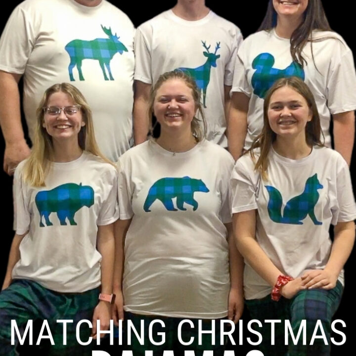 matching plaid christmas pajamas 14