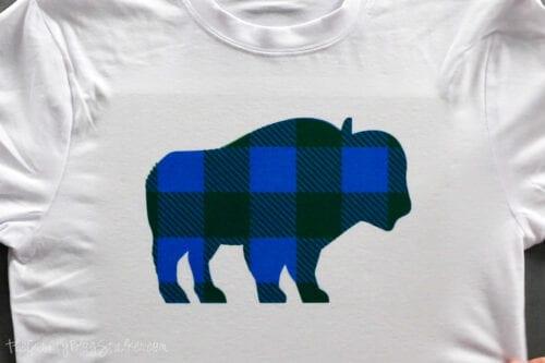 das blau-grün karierte Buffalo Jammie Shirt