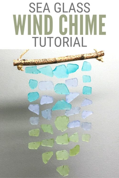 title image for How to Make Sea Glass Wind Chimes