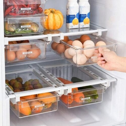 Organizers for a Small Fridge