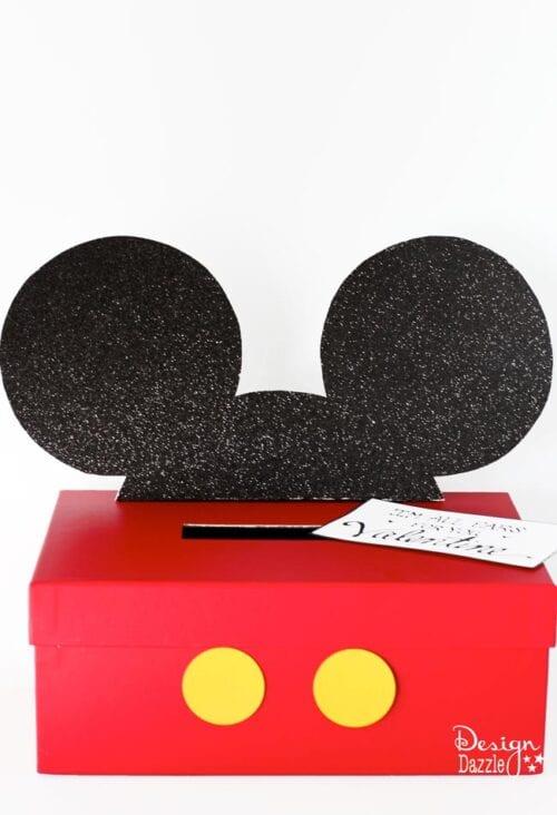 Mickey Mouse Valentine Box