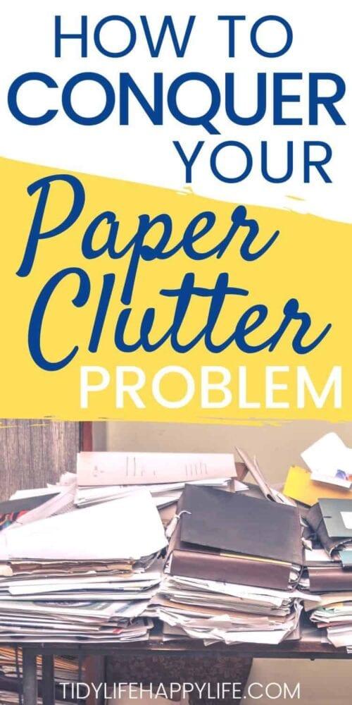 Erobern Sie Ihre Papierunordnung