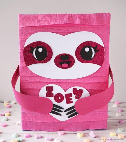 Sloth Valentine Box