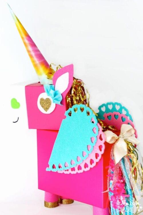Unicorn Valentine Card Holder