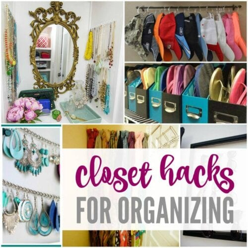 Closet Hacks to Organize Your Clothes