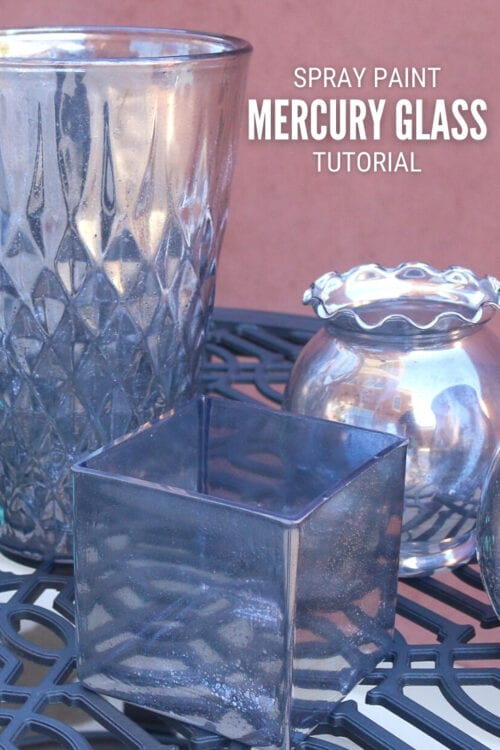 title image for How to DIY Mercury Glass with Spray Paint